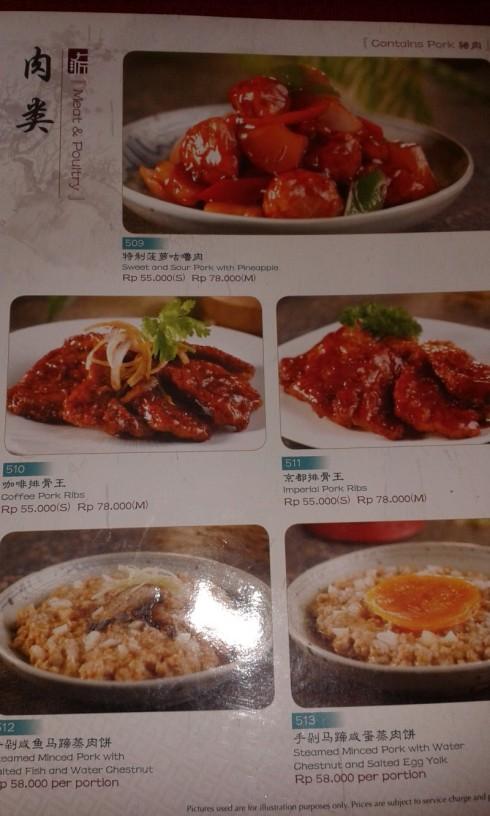 Paradise Inn - menu2
